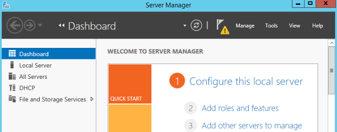 How to install Roles/Features on Windows Server 2012 R2